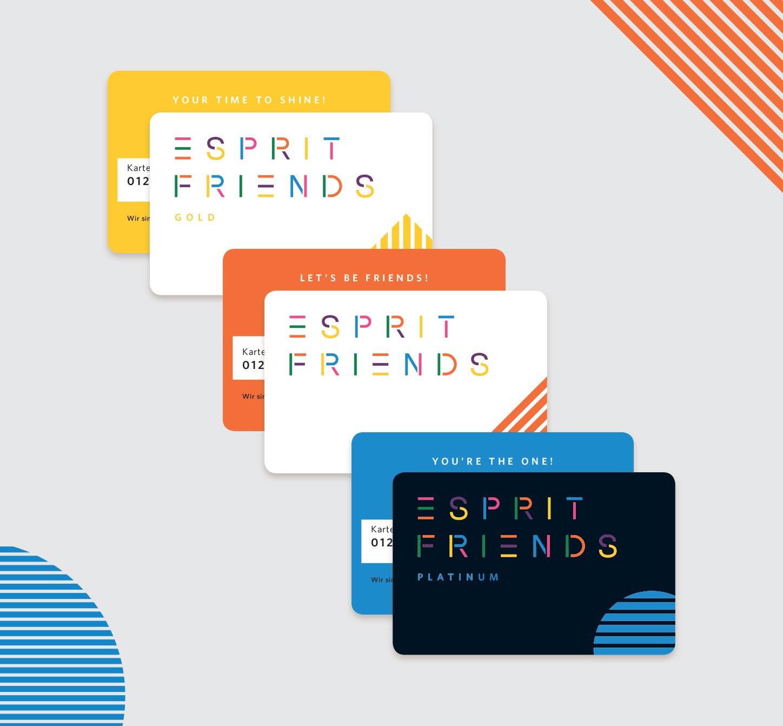 My Esprit Login - Friends Cards